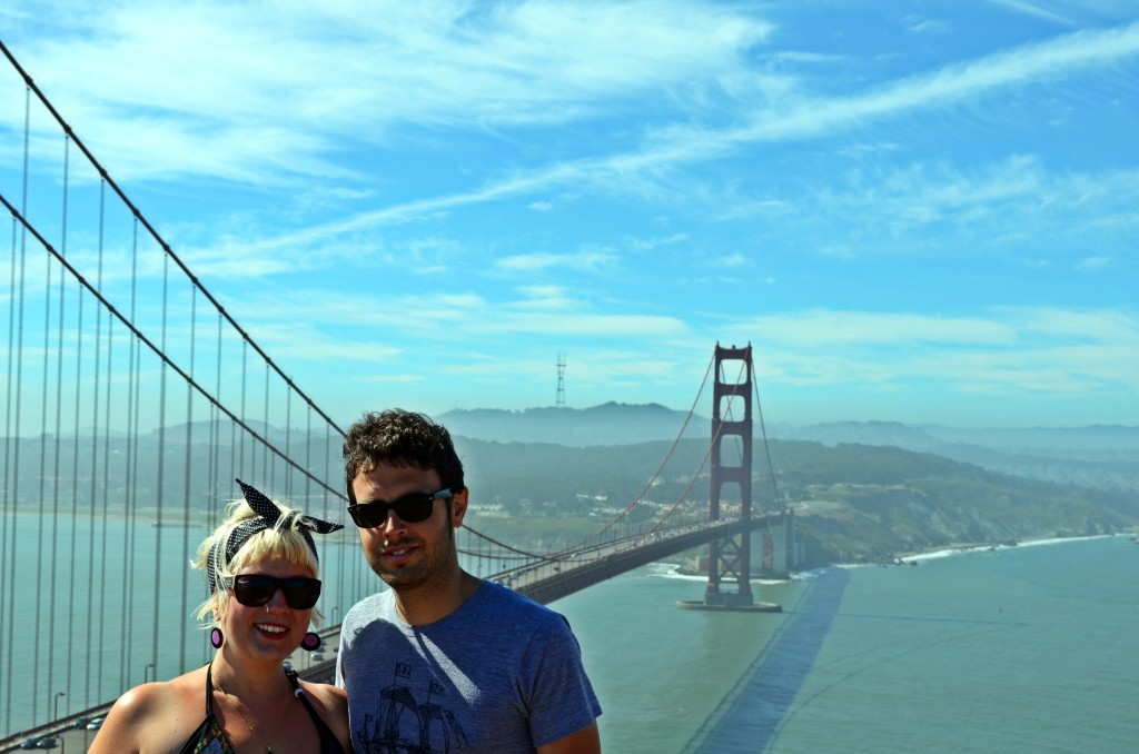 Me and my monsieur in San Francisco